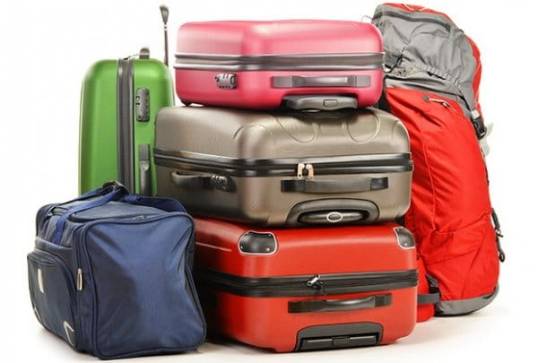 worldwide luggage shipping