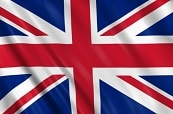 Parcel United Kingdom Flag