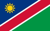 Parcel to Namibia